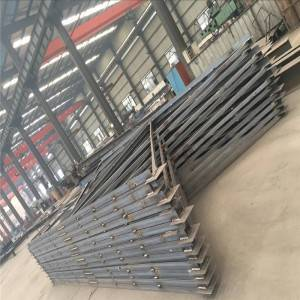 Precision Process on Steel- Steel frame for steel structure