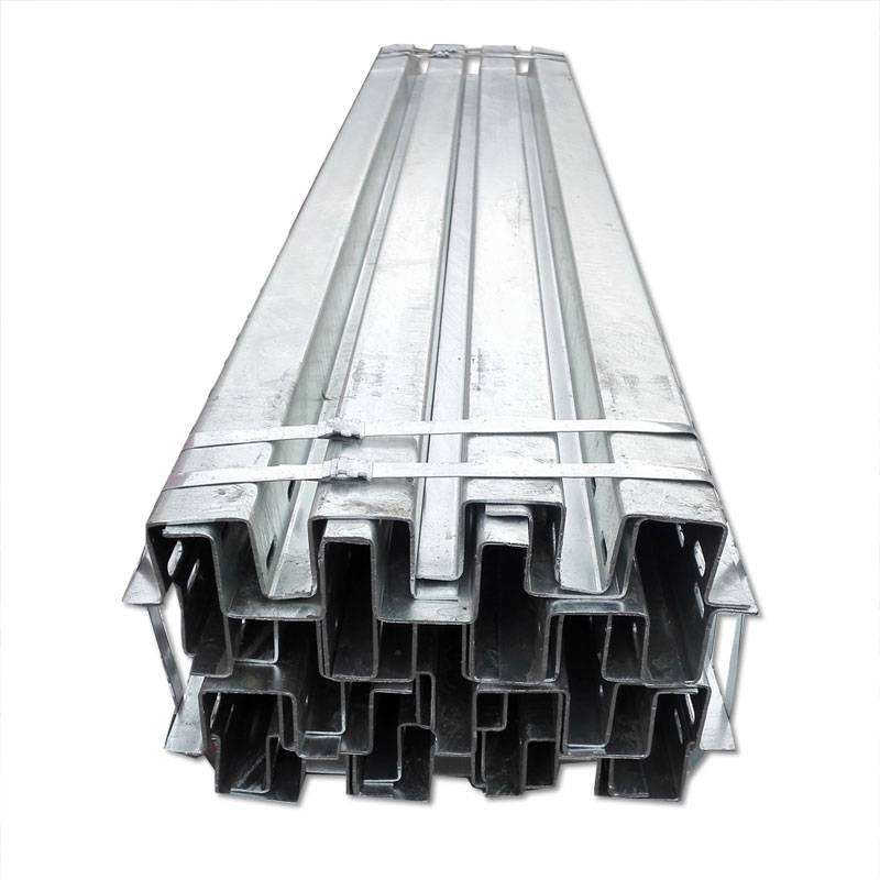 Good Wholesale Vendors Solar Panel Ballast Mounting System - Galvanized 125*65 Fuse Cutout Solar Mounting Channel – Rainbow