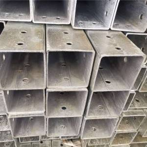 Super Lowest Price rectangular Steel Pipes - Steel Square Pipe – Rainbow