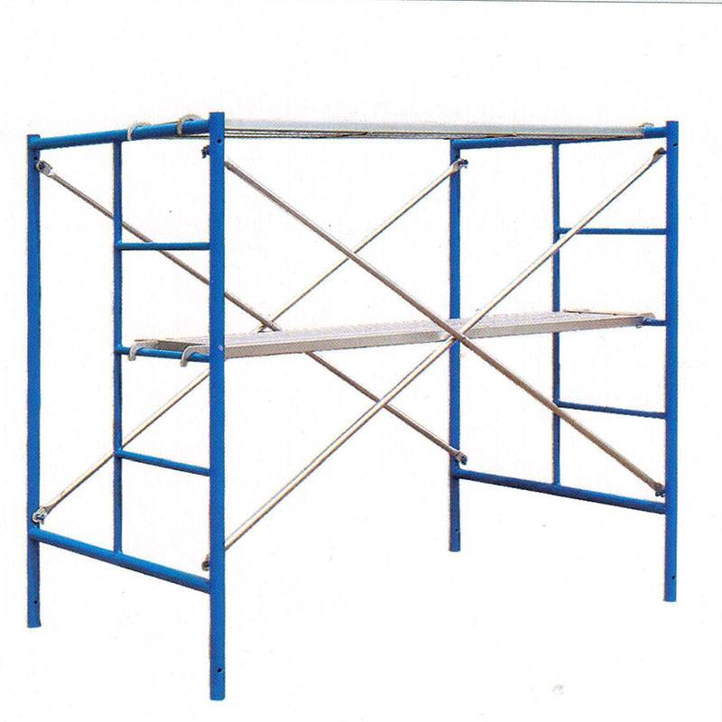 Chinese wholesale Galvanized Main Frame Scaffolding - Frame Scaffolding – Rainbow