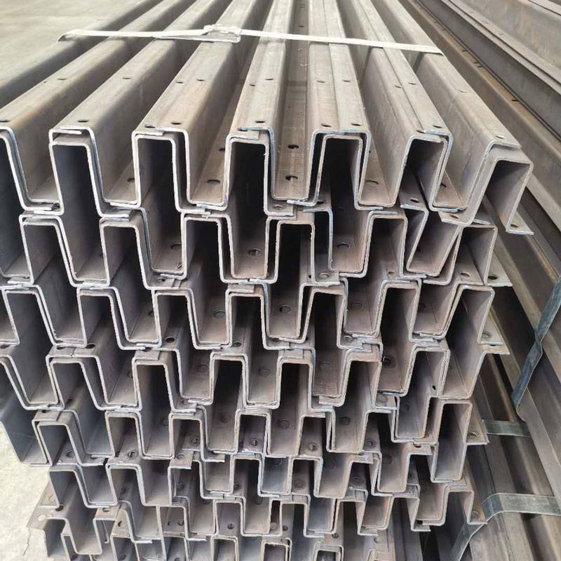 Good Wholesale Vendors Solar Panel Ballast Mounting System - Galvanized 125*65 Fuse Cutout Solar Mounting Channel – Rainbow detail pictures