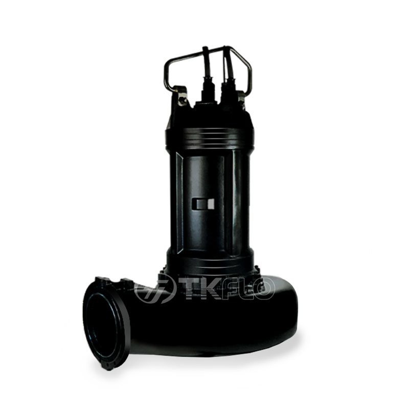 Best quality Open Impeller Submersible Pump - Submersible Sewage waste Water Submerged Pump – Tongke