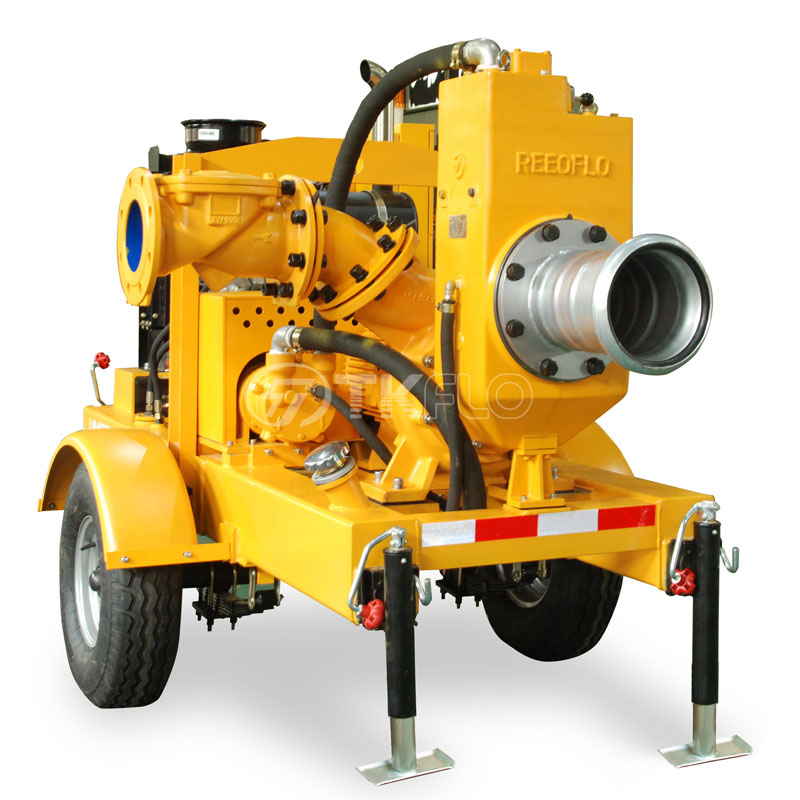New Arrival China Self Priming Water Transfer Pump - Movable Emergency Flood Control Diesel Engine Self-Priming Water Well Point Dewatering Pump – Tongke