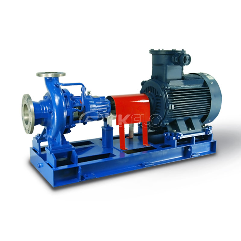 China Cheap price API Chemical Oil Pump - CZ Horizontal Single Stage End Suction Centrifugal ISO Chemical Pumps – Tongke