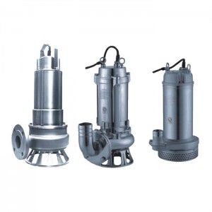 Wholesale Low Head Submersible Pump - JYWQ Samll Sewage Submersible Pump – Tongke