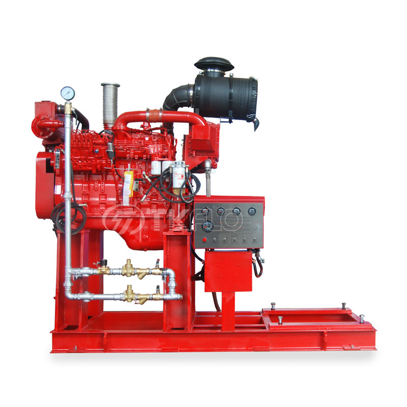 New Arrival China Wildland Fire Fighting Pumps - Diesel Engine Long Shaft Vertical Turbine Fire Pump – Tongke detail pictures