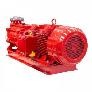 Reliable Supplier Vertical Condensate Pump - Multisatge high pressure centrifugal fire pump – Tongke