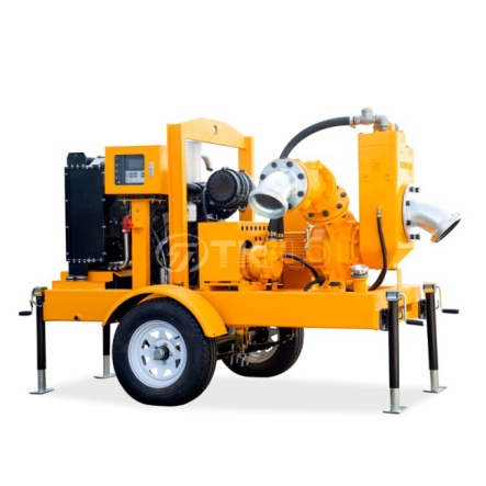 Factory Cheap Hot Well Point Dewatering System - TWP series Mobile Two treys Diesel Engine Drive Vacuum Priming well point dewatering pump  – Tongke