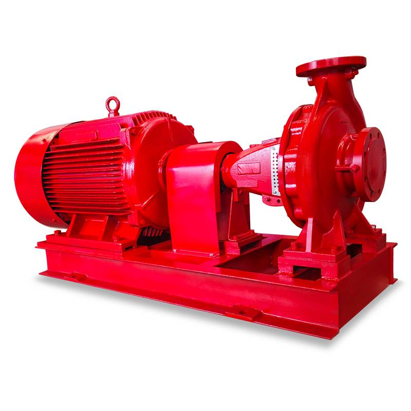 Cheapest Price Vertical Inline Shaft Turbine Pump - Single stage end suction centrifugal type NFPA FM fire pump – Tongke