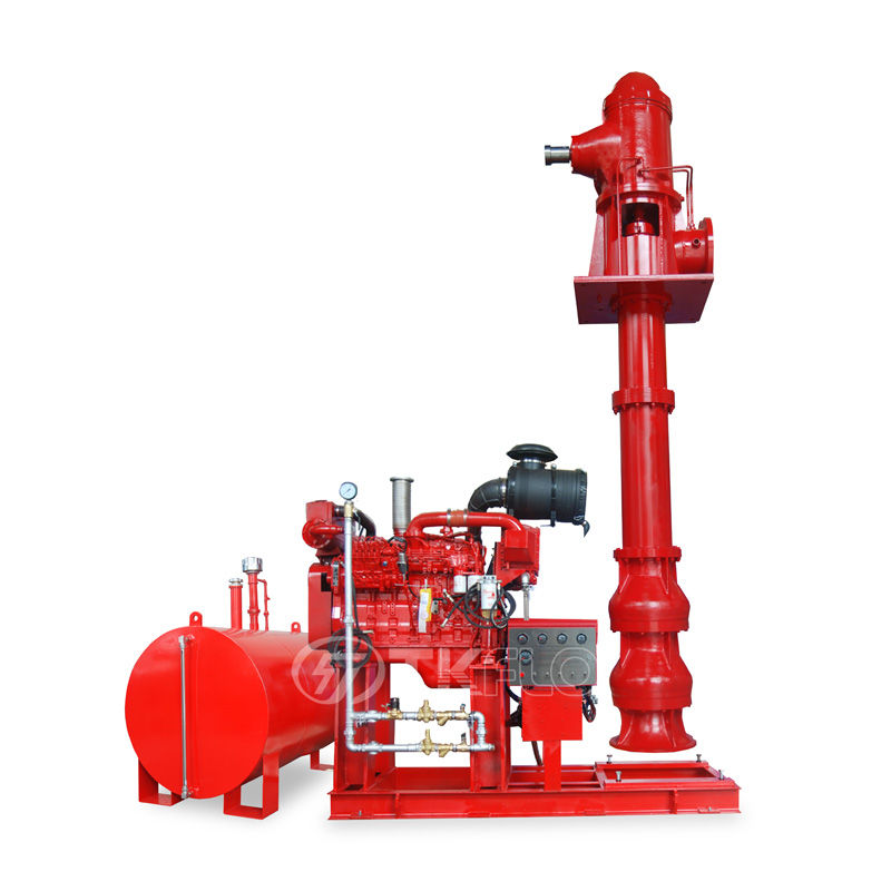 2020 China New Design Ultra High Pressure Fire Pumps - Diesel Engine Long Shaft Vertical Turbine Fire Pump – Tongke