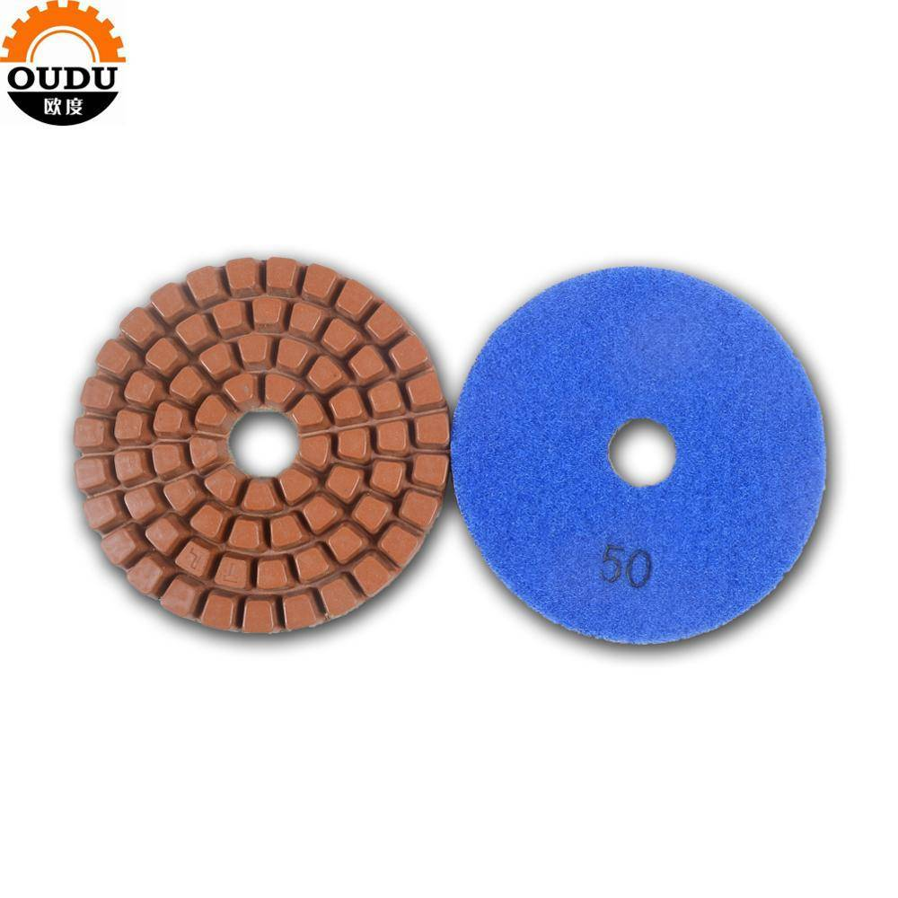 Concrete Grinding Disc Stone Wet And Dry Abrasive Floor Polishing Pad