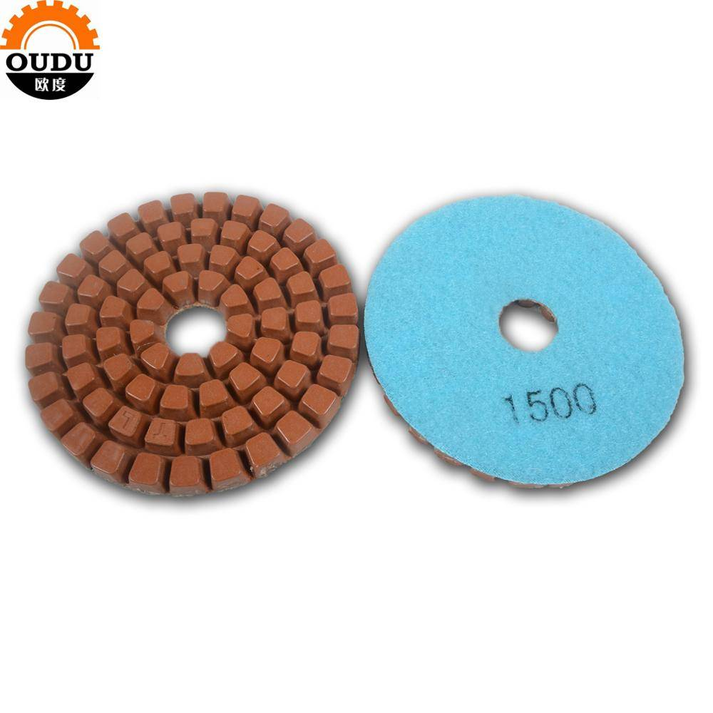 Grit 1500# Floor Polishing For Stone Renew And Concrete Polishing Pad