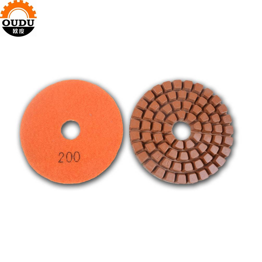 Thickness 10mm 12mm Abrasive Concrete Floor Polishing Pad