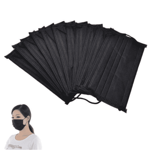 China Manufacturer for 3ply Disposable Face Mask - Black Disposable Mask – Tianli