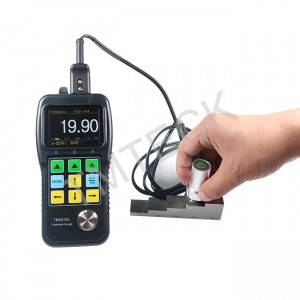 Ultrasonic thickness gauge A&B Scan for testing rubber thickness TM281 DL