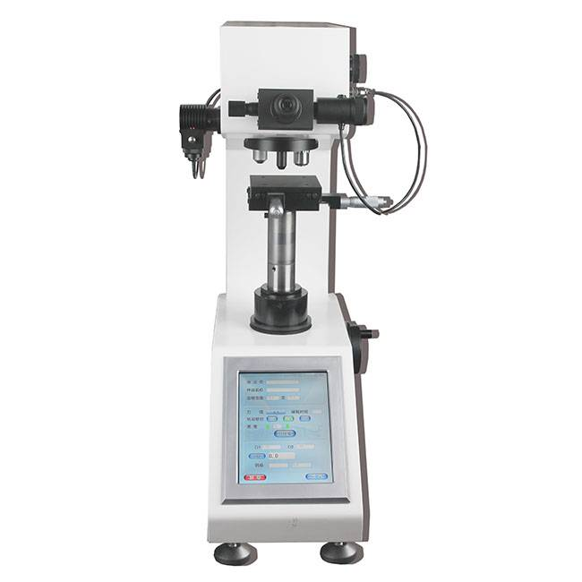 Hardness Scale Hv Micro Vickers Hardness Tester With Touch Screen Menu Structure Interface