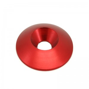 20*6.5*4mm COLOR ANODIZED WASHER ALUMINUM COUNTERSUNK WASHER FOR GO KART