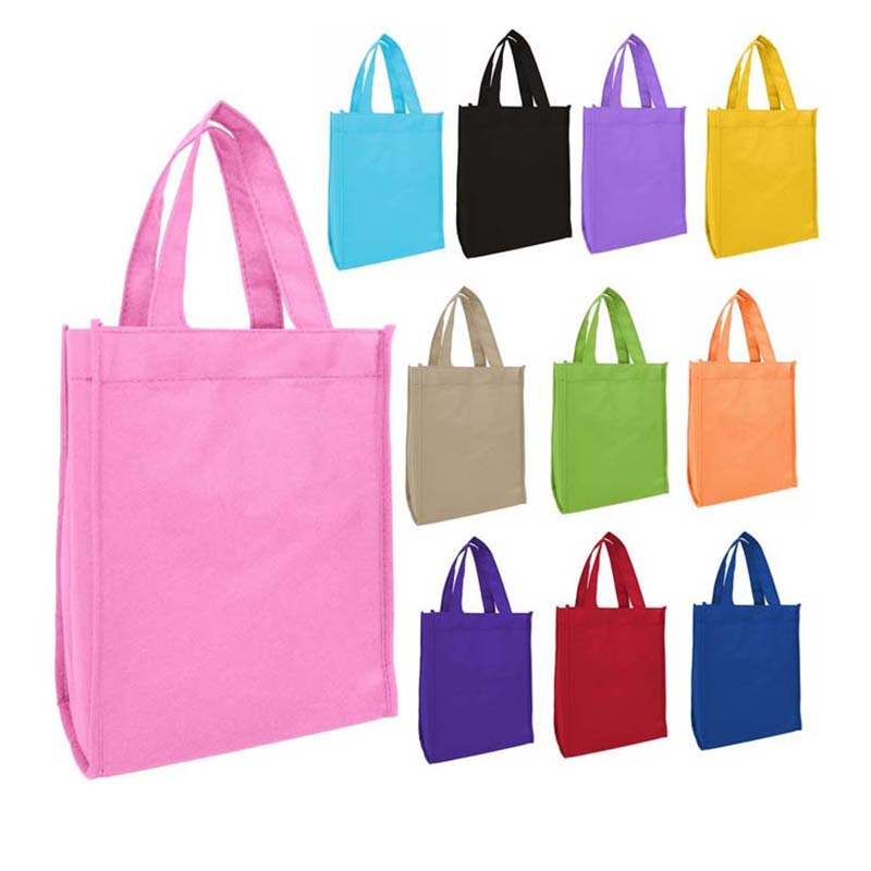 Big discounting Printed Tote Bag Manufacturer - Hot Selling Promotional Customized High Quality Cheap gift Logo Printed Recycled Grocery Shopping Tote Handled Non Woven Bag – Tongxing Featured Image