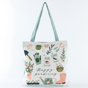 Fashion Creative Designed Inspire Printing Chic Cotton Canvas Tote Bag