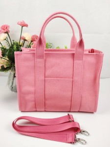 2020 A/W Fashion Trend New Brand Cotton Canvas Tote Bag