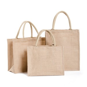 Close to Natural Shopping Grocery Jute Bag Promos Gift Casual Bag