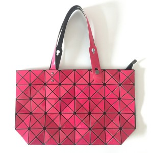 Geometry Diamond Magic Ladies Foldable Mesh Tote Bag with Detachable Handle