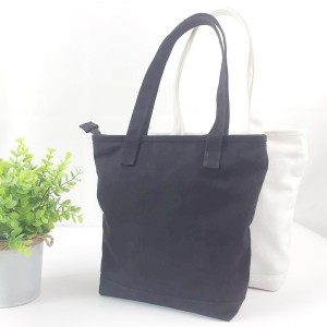 Minimalist Classic Casual Vintage Cotton Canvas Tote Bag