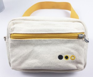 Multiple Functional Cotton Canvas Waist Pack