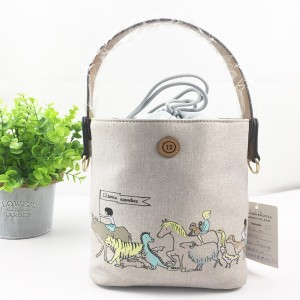 Best Home Decor Accessory Of Cotton Twill Linen Storage Bag