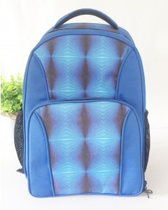 Durable RPET Fabric Made Hologram Printing Backpack Cooler Bag