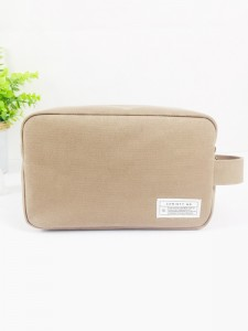 Neat Heavy Duty Cotton Canvas Handy Bag Coffee Color
