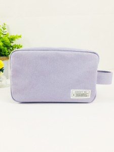 High Quality Vintage Cotton Canvas Zipper Bag