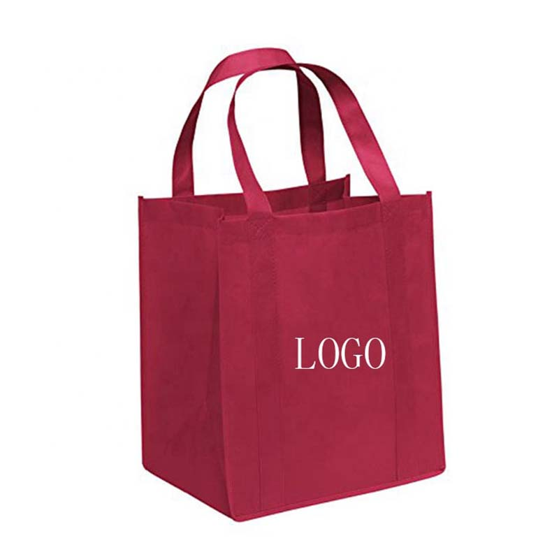 Europe style for Single Shoulder Bag - Best prices cheap price red printing non woven bag with nylon woven tote – Tongxing