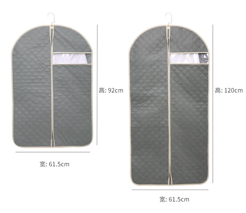 Ordinary Discount High Quality Oxford Bag Manufacturer - Custom Non Woven Dustproof Cover Bag Men Garment Suit Bags – Tongxing