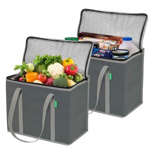 Guangzhou Customized Food Delivery Bag Promotional Outdoor Non Woven Cooler Picnic Bag
