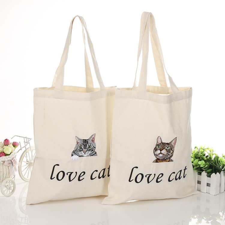 Excellent quality Canvas Tote Bag Factory - Customizable eco-friendly reusable cotton canvas tote bag, 8oz 10oz 12oz grocery shopping canvas bag with custom logo – Tongxing
