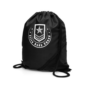 Custom logo plain backpack, Eco friendly 210D drawstring bag, Cheap polyester drawstring bag backpack