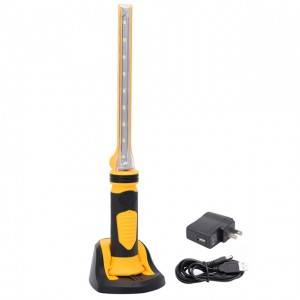 Best service OEM rechargeable LED handheld magnetic work light, portable led car work light
