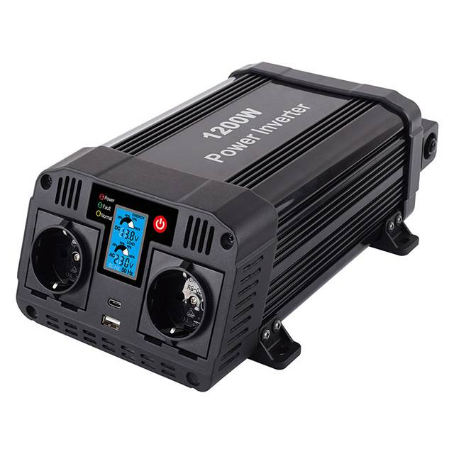 1200w Dc To Ac Power Inverter With Lcd Display Featured Image
