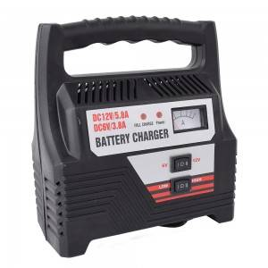 12V Portable Smart Handheld Lead Acid Battery Charger