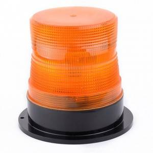 Discount Price Trailer Light Led - Emergency Warning Strobe Beacon Light – Amber Lens, Permanent or Pipe Mount – Tonny