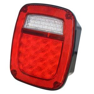 Rapid Delivery for Truck Marker Light - Led Multi-Function Lights, 16 Led(S/T/T),4 Led(License) & 22 Led(B/U) – Tonny
