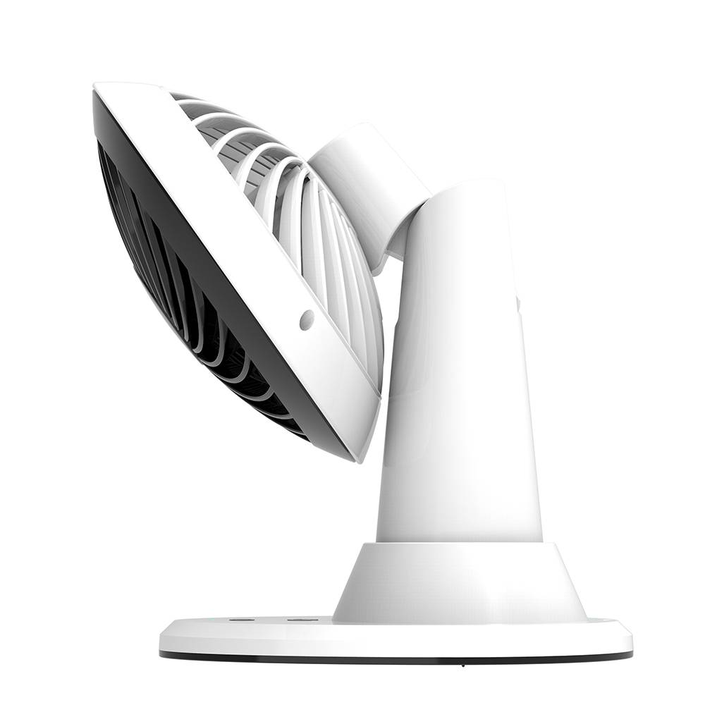 "5"" Rechargeable Automatic Oscillating USB 3 speeds desk Fan, Long working Hours Cooling fan"