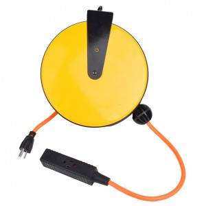Industrial retractable cord reel