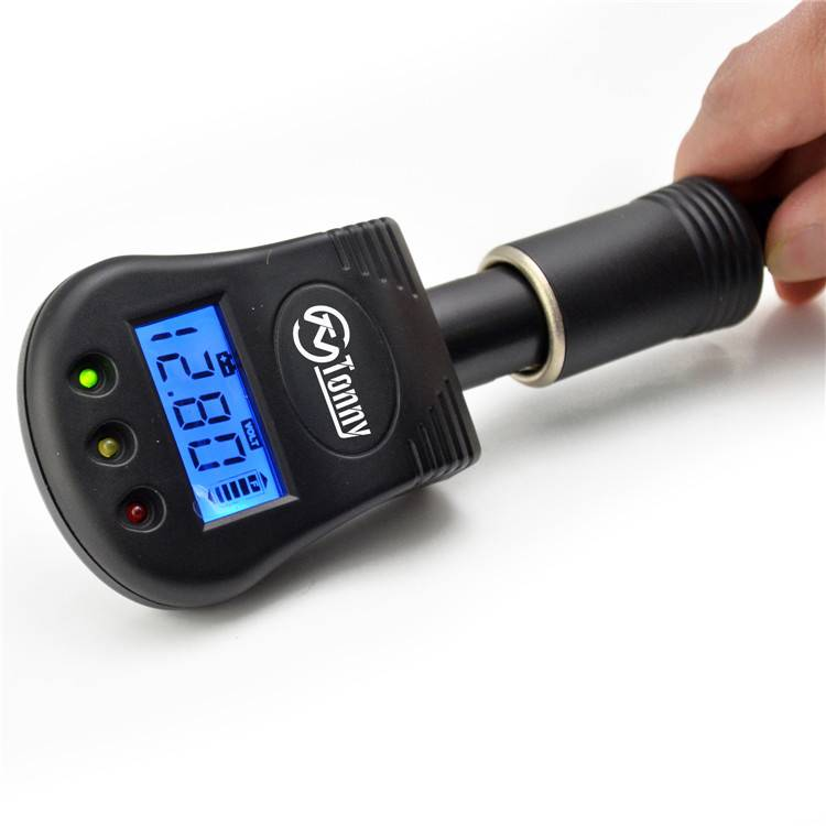 Excellent quality Automotive Circuit Tester - Vehicle Battery/Alternator Voltage Tester, Analyzer with LCD Display – Tonny detail pictures