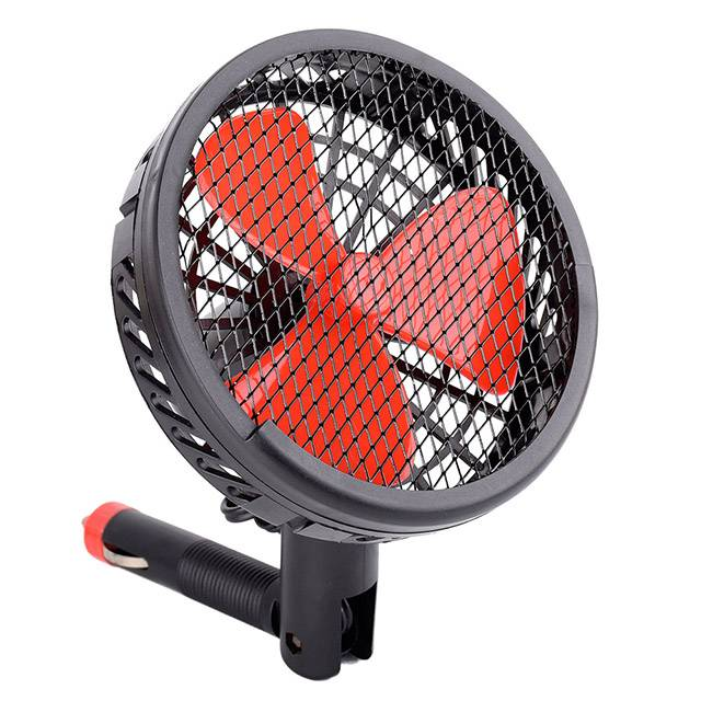Wholesale Price China Box Fan - 5-Inch Auto Fan With Adjustable Cigaretter Lighter Plug – Tonny detail pictures