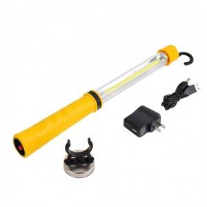 LED rechargeable led handheld magnetic work light, portable led car work light
