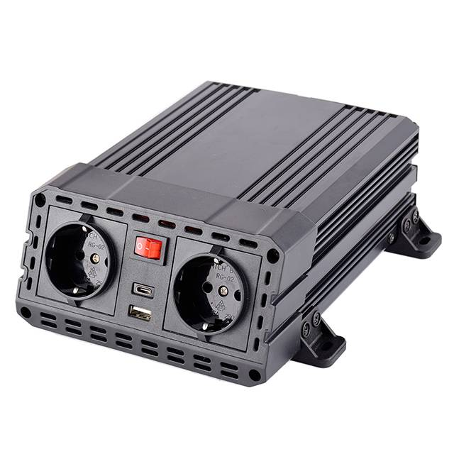 High efficiency 12V to 230V 600W car inverter dc to ac modified power inverter with charger