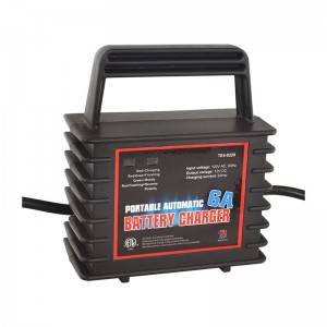 Universal 3 Satge Portable 12V 6 Amp Battery Charger