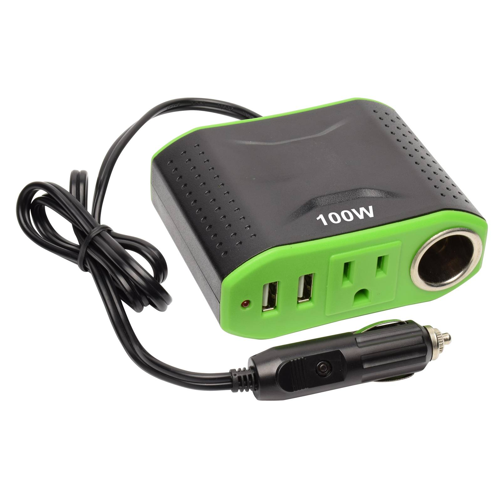 Professional China Power Inverter 1000w - DC To AC Portable Inverter DC 12V to 110V AC Converter with Dual USB Ports and one DC 12V Outlet Car Power Inverter with 12V Outlet & 2 USB Charging Ports, Auto Inverter, Ultra Compact – Tonny detail pictures